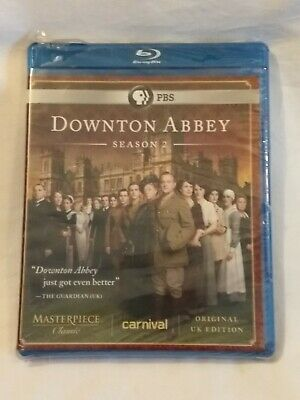 Masterpiece Classic: Downton Abbey Season 2 (Original U.K. Edition) (Blu-ray)