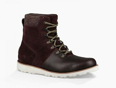 7b1e411d096 UGG AUSTRALIA MEN'S Halfdan Boot Grizzly Brown 1017286 Lace Up WP ...
