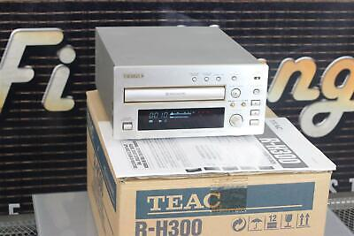 TEAC R-H300 Cassette TAPE DECK Fully Working BOX and Manual Great Condition
