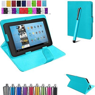 "Universal Flip Cover Case Stand Fits Acer Iconia One 10 B3-A50 10.1"" Tablet+Pen"