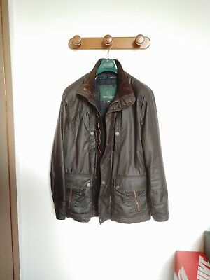 huge discount 8c264 239ad GIUBBOTTO HENRY COTTON'S Giacca Giaccone Cappotto Wax Jacket Cp Company  Barbour