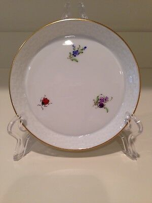 Hochst Porcelain Coaster Insects and Flowers #3 Made In Germany New