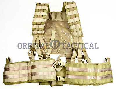 NEW Eagle Industries SFLCS H Harness Load Bearing Chest Rig KHAKI