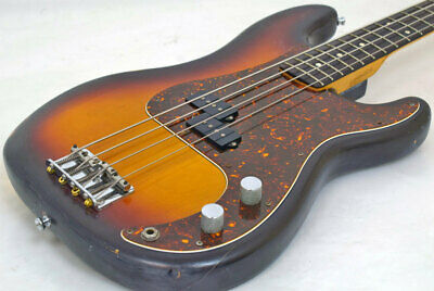 Fender 1984 Precision Bass 3-Color Sunburst Free Shipping!!