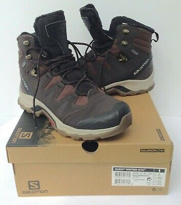 8d959380566 SALOMON QUEST WINTER GTX Hiking Boot - Mens 9.5 - Excellent, with box