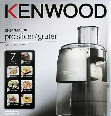 Kenwood Chef/major Pro Slicer/grater AT340 attachment
