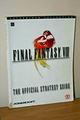 Official Complete Strategy Guide Final Fantasy Viii - Rare - Ps1 Piggyback