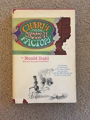 1964 CHARLIE AND THE CHOCOLATE FACTORY By Roald Dahl