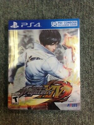 King Of Fighters XIV PS4 Steelbook EXCELLENT Condition