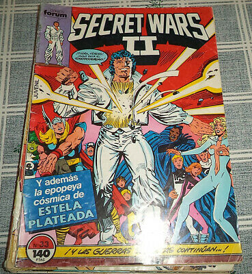 Tg=  Secret Wars Ii Comic Forum N.º 33