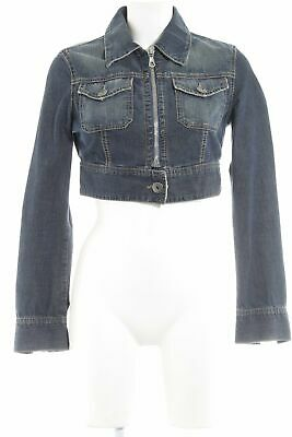 United Colors of Benetton Giubbino Giacca in Jeans Donna