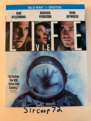 LIFE (Blu Ray) With SlipCover! Brand New & Sealed! English & French