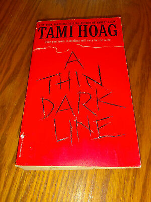 A Thin Dark Line by Tami Hoag (1998, Paperback) #d0