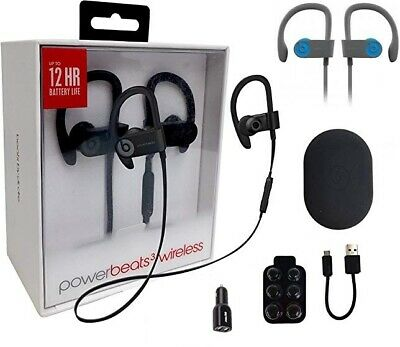 New in Box beats by dr Dre powerbeats3 wireless Bluetooth sport earphone - UK