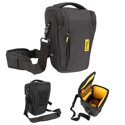 Top-Load Holster Camera Bag Compact Large Size DSLR SLR Zoom Lens Shoulder Waist