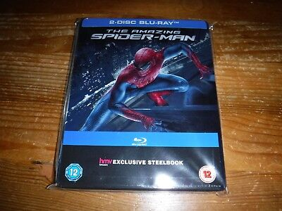 The Amazing Spiderman Blu Ray Steelbook 2 Disc HMV exclusive
