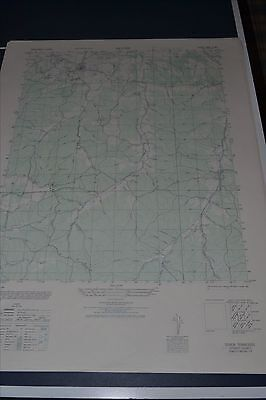 1940's Army Map Dover Tennessee -Sheet 3456 IV NE
