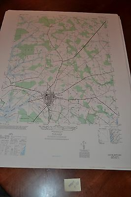1940's Army topographic map Easton Maryland  -Sheet 5761 I SE