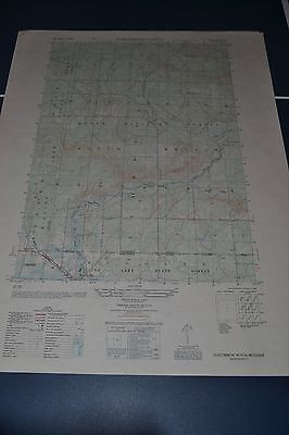 1950 Army topographic map Roscommon N Michigan Sht 4073 II NW w/ Aerial Photo
