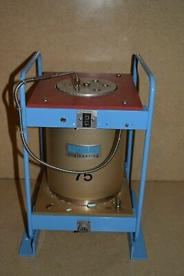 Broman Model 860/275 Temperature Calibrator Thermal Unit In Wood Case