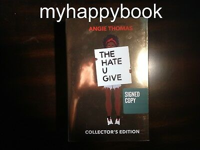 The Hate U Give Collector's Edition by Angie Thomas (2018, Hardcover)