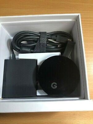 Google Chromecast Ultra 4K HDMI Media Streaming Player - OPEN BOX UNUSED!!