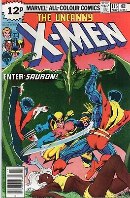 UNCANNY X-MEN #115 Claremont Byrne Marvel Comics 1978 VF/NM