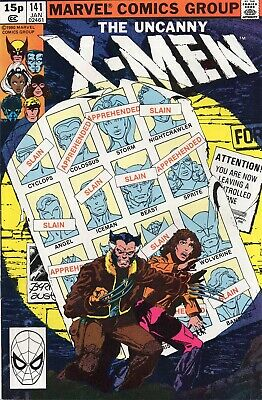 UNCANNY X-MEN #141 Claremont Byrne Marvel Comics 1981 NM-