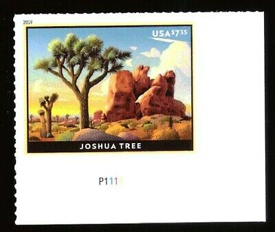 US - Plt # Single - Sc #5347 - $7.35 Priority - Joshua Tree - MNH