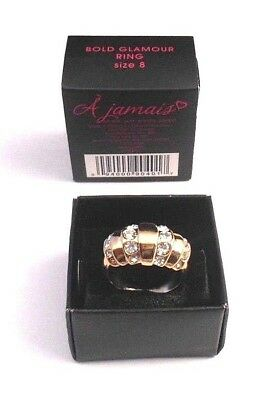 af5788cfd Gorgeous Avon Forever Bold Glamour Ring Selected By Paula Abdul Size 8 Nos  2013
