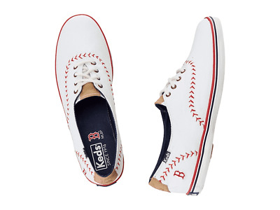 2ea15f2bf288f KEDS Womens BOSTON RED SOX Size 6M MLB World Series Champions Canvas  SNEAKERS