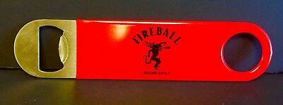 Fireball Cinnamon Whisky Red Bottle Opener Speed Wrench Style New & Free Ship 7""
