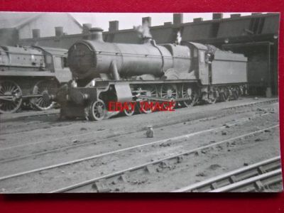 Photo  Gwr Hall Class Loco No 7914 At Shrewsbury Mpd 27/8/61