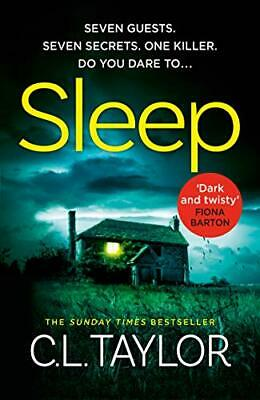 Sleep by C.L. Taylor New Hardback Book