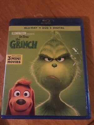 The Grinch 2018 BluRay like new condition