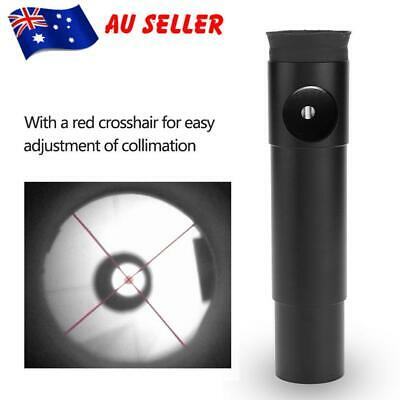 New 1.25 inch Collimator Eyepiece for Newtonian Telescope with red crosshair AU