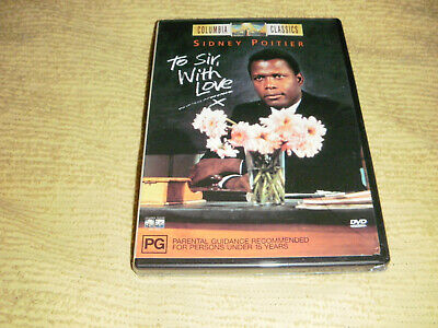 TO SIR, WITH LOVE drama 1966 DVD NEW & SEALED Sidney Poitier judy geeson R4