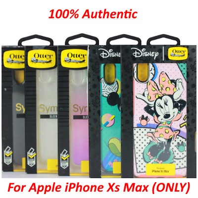 OEM Otterbox Symmetry Gardient Glitter & Disney Case for iPhone Xs Max ONLY