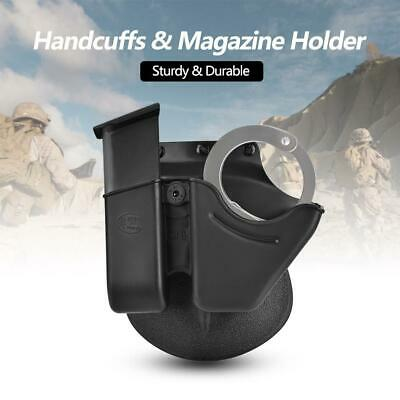 Quick Release Handcuff Holder Holster Magazine Pouch Accessory for 6909 Magazine