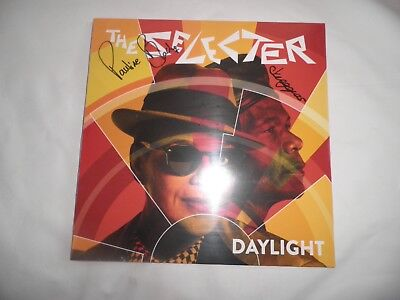 the selecter daylight lp signed copy new sealed ska two tone mod