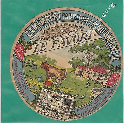 J1266 Fromage Camembert Fermiers Normands