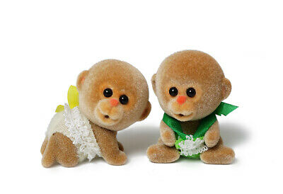 Sylvanian Families Calico Critters Monkey Twins
