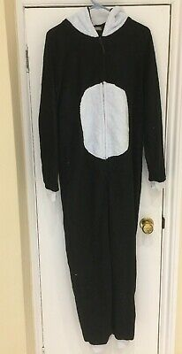 Loungeable Womens Panda All In One Soft Hooded Sleepsuit - UK Size L Large