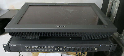 Sony 17inch LCD monitor with composite  / component and SDI  (ref 3)