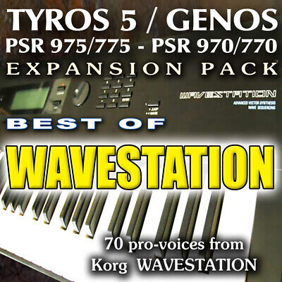 YAMAHA TYROS 5 Expansion Packs- First pack of 6 - £15 00