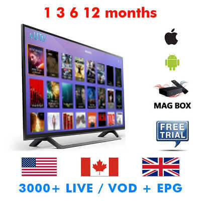 IPTV SUBSCRIPTION 3 month Ipguyes - $37 00 | PicClick CA