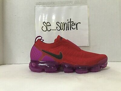 4f28f00cfb Nike Women's Air Vapormax Flyknit Moc 2 University Red Black AJ6599 600 Size  11