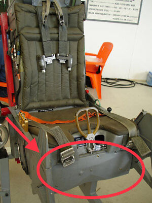 ACES II Ejection Handle Mechanism Front Panel / F-16 Ejection Seat
