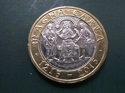 Cheapest 2015 £2 Coins Two Pound Rare Magna Carta