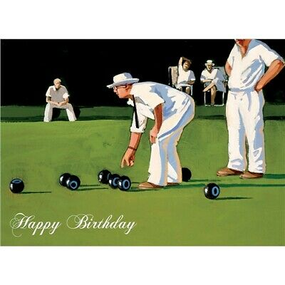 Lawn bowling card for the gents or ladies